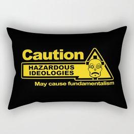 Hazardous Ideologies Rectangular Pillow
