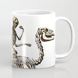 Horse Skeleton & Rider Coffee Mug