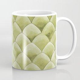 Green Snakeskin-ish Tessallation Coffee Mug