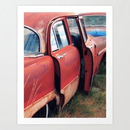 Caught Red & Handled Art Print