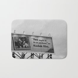 You Ought To Be In Pictures Bath Mat