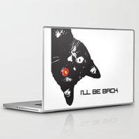 terminator Laptop & iPad Skins featuring Cat Terminator by VINSPIRO