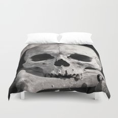 Skulls And Bones Duvet Cover