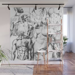 NOODDOOD Sketch Collage  Wall Mural