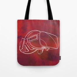 Virtual reality mask Tote Bag