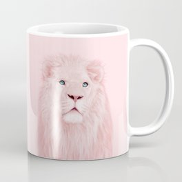 ALBINO LION Coffee Mug