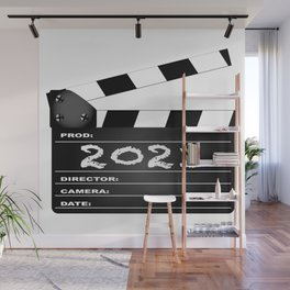 2021 Clapper Board Wall Mural