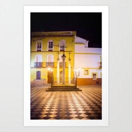 Sevilla Streets Art Print