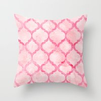 morocco Throw Pillows featuring Morocco by Tayler Willcox