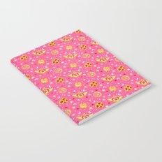 Sailor Moon Brooches Pattern - Pink / Sailor Moon Notebook