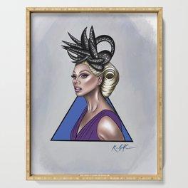 Queen of Drag- RuPaul Serving Tray