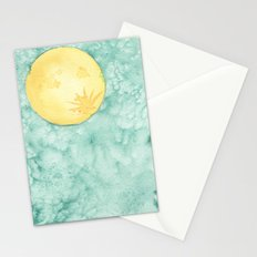 When The Moon Hits Your Eye Stationery Cards
