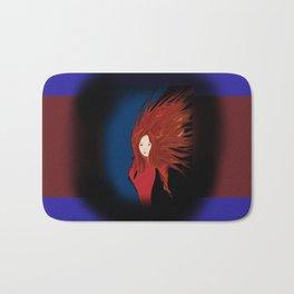 Fire Woman Bath Mat