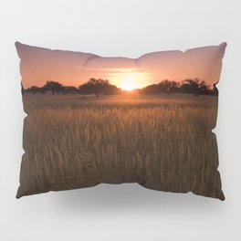 African Kalahari Sunset - Landscape Photography #Society6 Pillow Sham