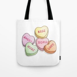 Candies & Sweets: Sweethearts Tote Bag