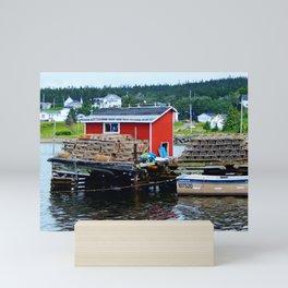 Fisherman's Shack Mini Art Print