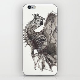 Paarthurnax from Skyrim ; Skyrim Dragon ; Fantasy Art iPhone Skin