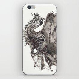 Paarthurnax from Skyrim ; Skyrim Dragon ; Fantasy Art iPhone Skin
