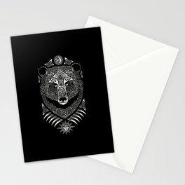 Scandinavian bear Stationery Cards