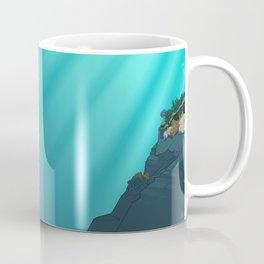 Mermaid Black Coffee Mug
