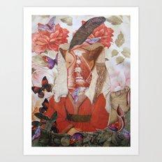 MARGARETHA Art Print