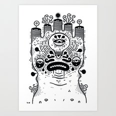 le sad boii Art Print