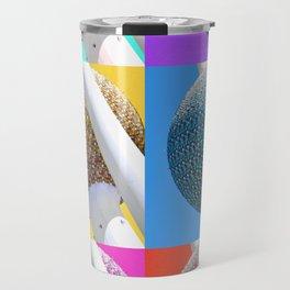 Kuwait PopArt Travel Mug