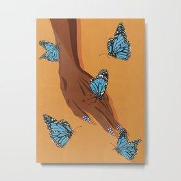 Butterflies (saturated version) Metal Print