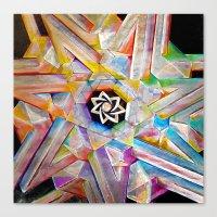 escher Canvas Prints featuring Escher Star by Todd Huffine