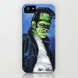 Rebel Frankenstein iPhone Case
