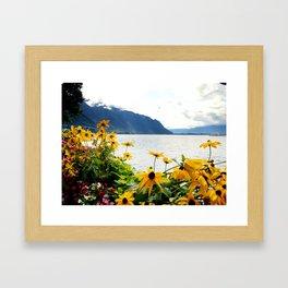 Earth Water Sky Framed Art Print