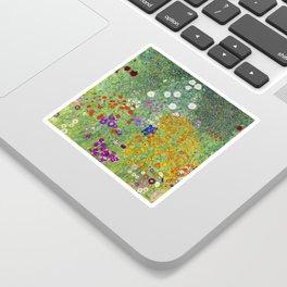 Flower Garden - Gustav Klimt Sticker