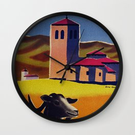 Espagne - Spain - Vintage French Travel Poster Wall Clock
