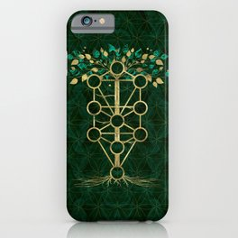 Kabbalah The Tree of Life - Etz Hayim iPhone Case
