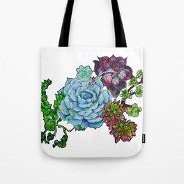 Sweet Succulents Tote Bag