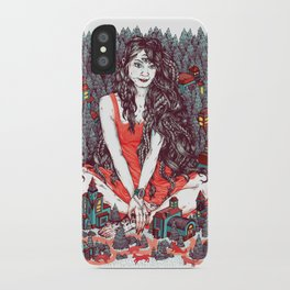 Three Eyed Girl iPhone Case