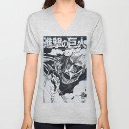 Shingeki no kyojjin AttackOnTitan  Unisex V-Neck