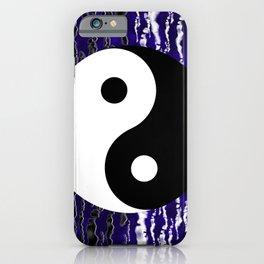 Yin Yang Blue Tranquility iPhone Case