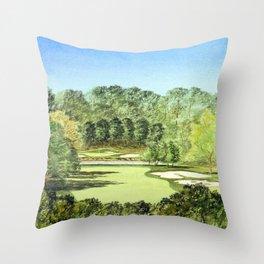 Glen Abbey Golf Course Canada Throw Pillow