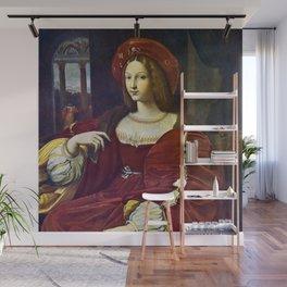 Joanna of Aragon by Raphael Wall Mural