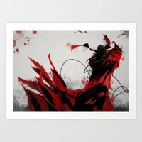 spawn Art Prints featuring Spawn by Scofield Designs