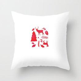 Scandinavian Christmas  Throw Pillow