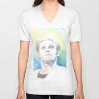niall V-neck T-shirts featuring Niall by Rach