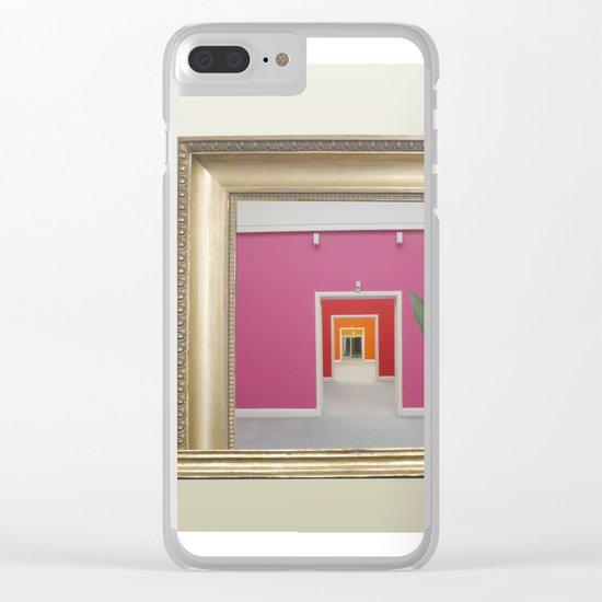 RahmenHandlung 3 Clear iPhone Case