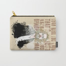 The Dude, The Big Lebowski quote  Carry-All Pouch
