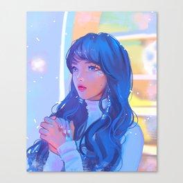 Cheng Xiao Canvas Print