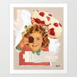 Sugar Junkie Art Print