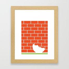 Humpty Dumpty_2 Framed Art Print
