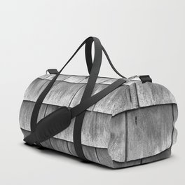 Cedar wall tile Duffle Bag