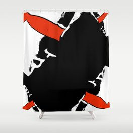 When eyes are closed Shower Curtain